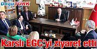 MERKEZ PARTİ GENEL BAŞKANI KARSLI'DAN EGC'YE ZİYARET
