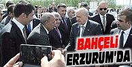 MHP GENEL BAŞKANI BAHÇELİ ERZURUM'DA