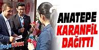 MHP İL BAŞKANI ANATEPE, ANNELER GÜNÜ'NDE KARANFİL DAĞITTI
