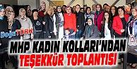 MHP KADIN KOLLARI'NDAN TEŞEKKÜR TOPLANTISI