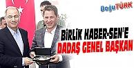ÖMER BUDAK, BİRLİK HABER-SEN GENEL BAŞKANLIĞI'NA SEÇİLDİ