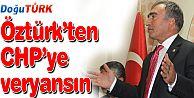 ÖZTÜRK'TEN CHP'YE SERT TEPKİ
