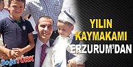 TAŞOLAR, ÜSTÜN HİZMET ÖDÜLÜYLE 'YILIN KAYMAKAMI' SEÇİLDİ