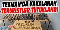 TEKMANDA YAKALANAN 3 TERÖRİST TUTUKLANDI