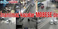TRAFİK KAZALARI MOBESE KAMERALARINA YANSIDI