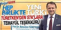 TÜRETKEN'DEN STK'LARA TEMAYÜL TEŞEKKÜRÜ