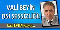 VALİ BEYİN DSİ SESSİZLİĞİ!