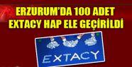 100 ADET EXTACY HAP ELE GEÇİRİLDİ