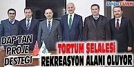 TORTUM ŞELALESİ'NE REKREASYON ALANI İÇİN İLK ADIM