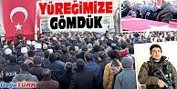 ŞEHİT POLİS MEMURU ERZURUM'DA SON YOLCULUĞUNA UĞURLANDI