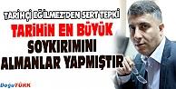 EĞİLMEZ'DEN, ALMAN PARLAMENTOSUNA TEPKİ