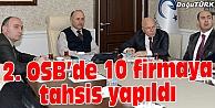 2. OSB'DE İKİNCİ GRUP TAHSİSLER YAPILDI