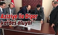 Digor'a kardeşlik köprüsü