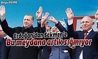 Erdoğan'dan Sekmen'e özel ilgi