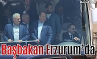 Başbakan Yıldırım Erzurum'da