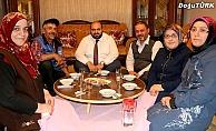 Başkan Orhan'dan çat kapı iftar