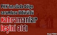 PKK'nın sözde bölge sorumlusu öldürüldü