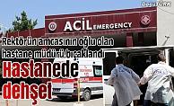 Araştırmada dehşet: Hastane müdürü odasında bıçaklandı