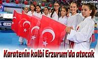 14. Uluslararası Palandöken Karate Turnuvası başlıyor
