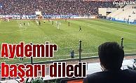 Aydemir: Erzurumspor'un süper lige çıkacağına inanıyoruz