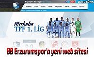 BB Erzurumspor'un resmi web sitesi yayında
