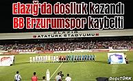 Dostluk maçında kazanan Elazığspor oldu