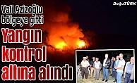 Orman yangını 24 saatte kontrol altına alındı