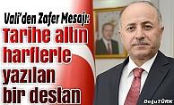 Vali Azizoğlu'ndan 30 Ağustos mesajı