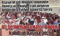 Ali Demirhan amatör kümeye…