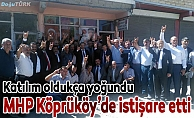 MHP Köprüköy'de istişare etti