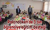 Palandöken'de 3 bin öğrenciye eğitim desteği