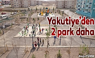 Yakutiye Belediyesi'nden iki park daha
