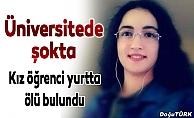Üniversite öğrencisi ölü bulundu