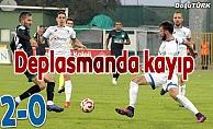 BB Erzurumspor Giresun'a yenildi