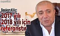 Çat Belediye Başkanı Kılıç'tan yeni yıl mesajı