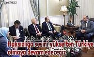 """""""Haksızlığa sesini yükselten Türkiye olmaya devam edeceğiz"""""""