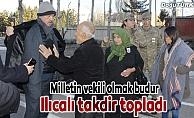 Milletvekili Ilıcalı'dan asker ailesine devlet şefkati