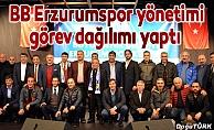 BB Erzurumspor yönetimi görev dağılımı yaptı