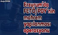 Erzurum'da FETÖ/PDY'nin mahrem yapılanması operasyon