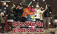 Palandöken'de yeni yıl coşkusu