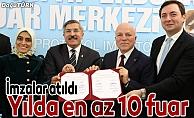 TÜYAP-Büyükşehir protokol imzaladı