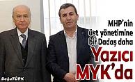 Yazıcı, MHP'nin MYK üyeliğine seçildi