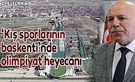 """Kış sporlarının başkenti""""nde olimpiyat heyecanı"""