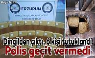 Erzurum'da 57 kilogram eroin ele geçirildi