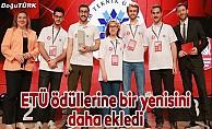 ETÜ'ye en iyi iletişim becerisi ve sunum ödülü