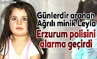 12 gündür kayıp Leyla ihbarı Erzurum polisini alarma geçirdi