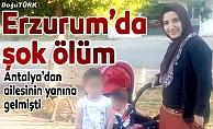 2 çocuk annesi kadının şok ölümü