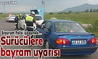 Bayramda yola çıkacak sürücüleri polis uyardı