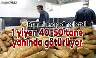 Erzurum'un vazgeçilmez lezzeti damakları tatlandırıyor