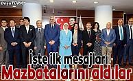 AK Parti Erzurum milletvekilleri mazbatalarını aldı
